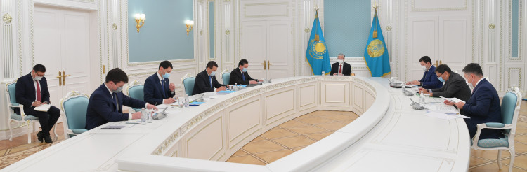 The Head of State held the session on the socio-economic development