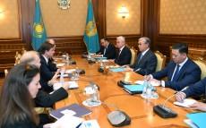 Kassym-Jomart Tokayev receives David Hale, the United States Under Secretary of State