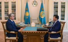 Глава государства принял председателя агентства по противодействию коррупции Алика Шпекбаева
