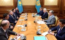 Kassym-Jomart Tokayev receives US Congressmen Devin Nunes and Rick Crawford